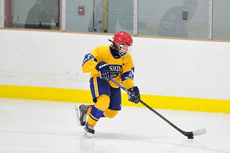 Хоккейные гимназии Швеции -хоккей должен быть интересным для всех!!!